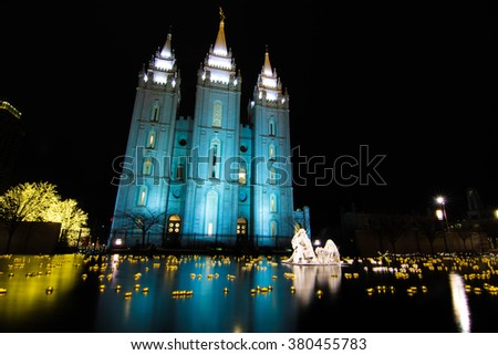 The Church of Jesus Christ of Later Day Saints - stock photo