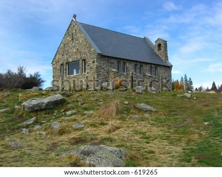 The Church of the Good Shepherd - stock photo