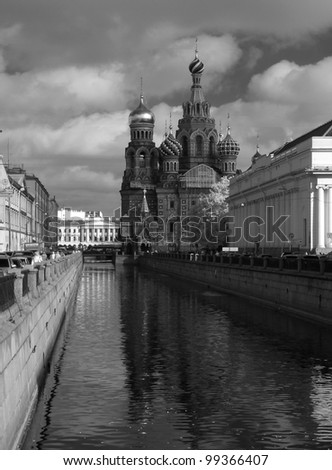 The Church of the Savior on Spilled Blood - stock photo