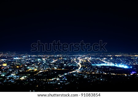 The city. - stock photo