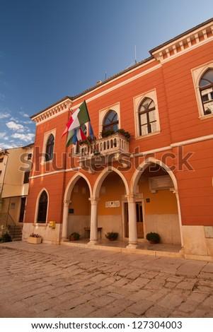 The city Hall - Bale - Croatia - stock photo