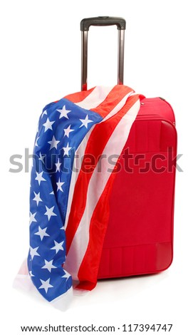 The concept of emigration, immigration, relocation - stock photo