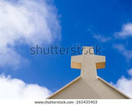 the cross - stock photo