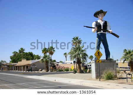 The Crossing Guard - stock photo