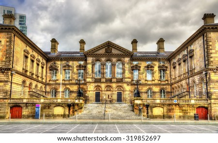 The Customs House in Belfast - Northern Ireland - stock photo