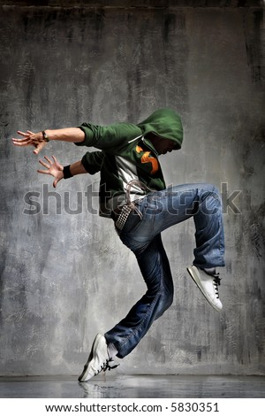 the dancer - stock photo