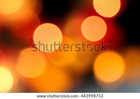 The defocused abstract blurry circles background - Bokeh - stock photo