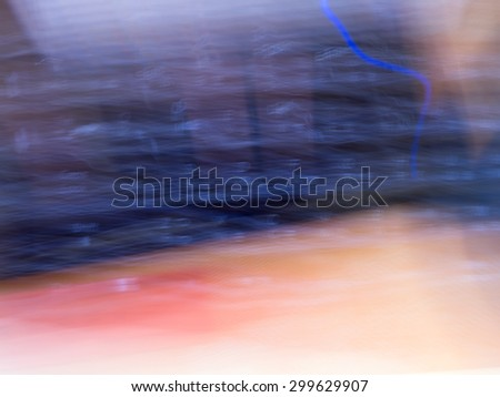 The digital blur Abstract picture. Keyboard. - stock photo