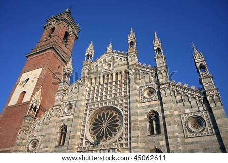 The Dom of Monza, Italy - stock photo