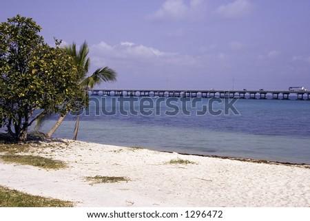 The dream beach - stock photo