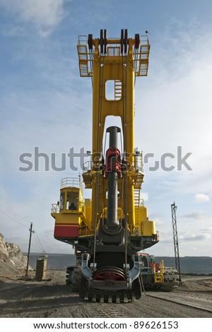 The dredge - stock photo