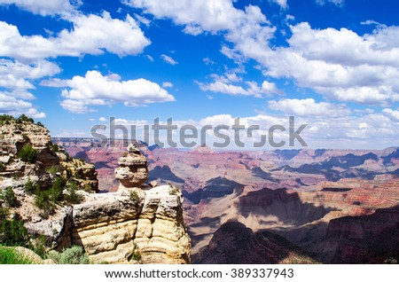 The Duck at Grand Canyon - USA - stock photo