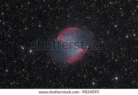 The Dumbbell Nebula - stock photo