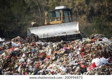 The dump - stock photo