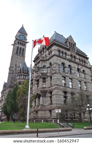 The elegant Old City Hall, Toronto, Canada - stock photo