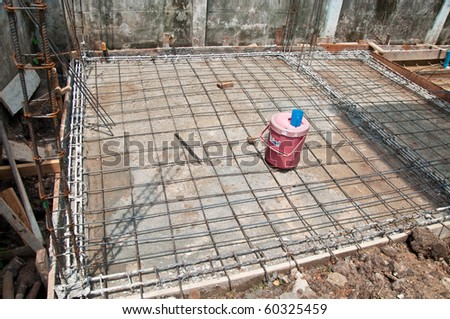 The Equipment of under construction - stock photo