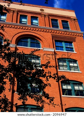 The famous book depository in downtown Dallas, Texas. Scene of one or the most important events in US history. - stock photo