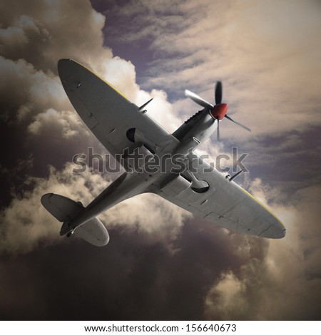 The Fighter. - stock photo
