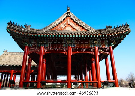 The Forbidden City in China,the Imperial Palace. - stock photo