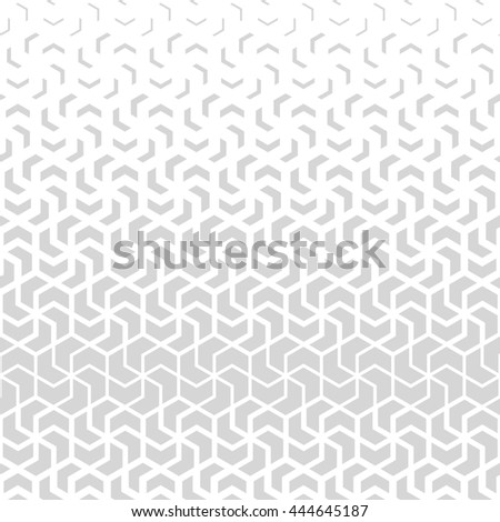 The geometric pattern with triangles. Stylish background. Gray and white texture. Stylish graphic pattern. - stock photo