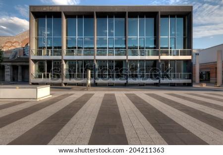 The German National Museum in Nuremberg (Germanisches Nationalmuseum) - stock photo