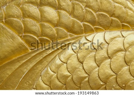 The gold pattern background - stock photo
