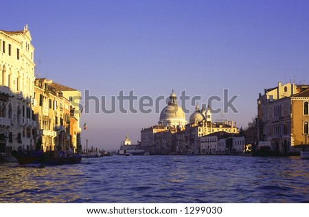 The Grand Canal - stock photo