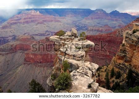 The Grand Canyon - stock photo