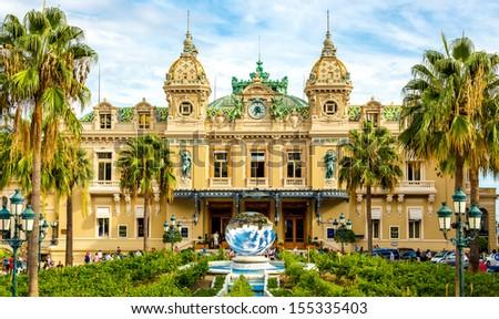 The grand casino in Monaco - stock photo