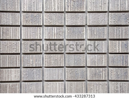 The Grungy and smooth bare concrete wall - stock photo