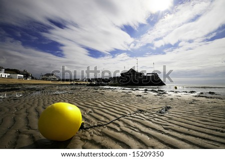 The harbour at Broadstairs Kent England - stock photo