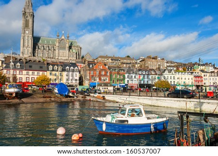 The harbour at Cobh. Co Cork, Ireland, Europe - stock photo