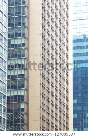 The high-rise buildings - stock photo