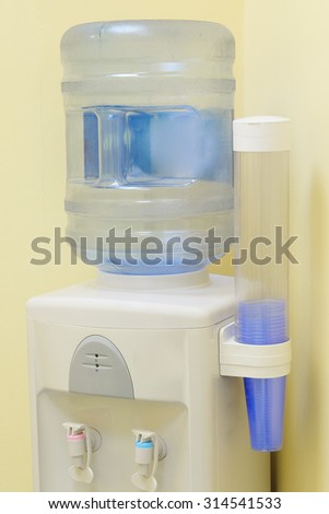 The image of a cooler - stock photo