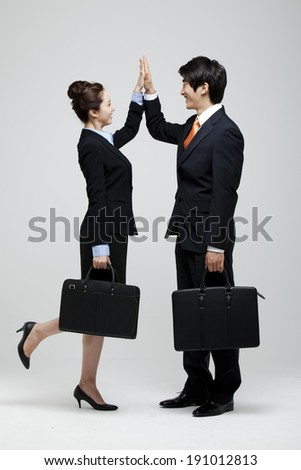 the image of business - stock photo