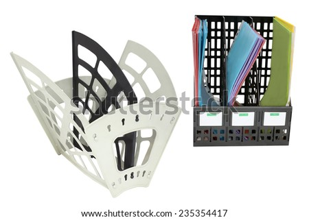 The image of paper rest - stock photo