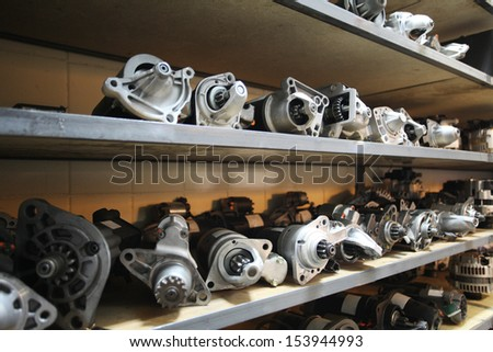 The image of storehouse - stock photo