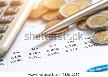 The investment is profitable - stock photo