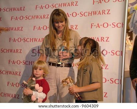 The Irwin family - stock photo