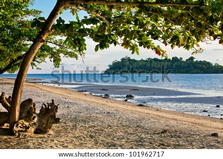 The island of Koh Chang in Thailand. - stock photo