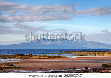 The Isle of Arran - stock photo