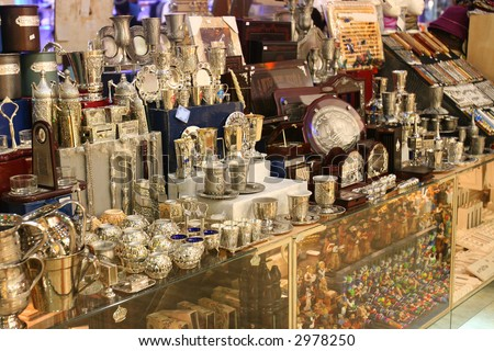 The Jewish religious souvenirs - stock photo