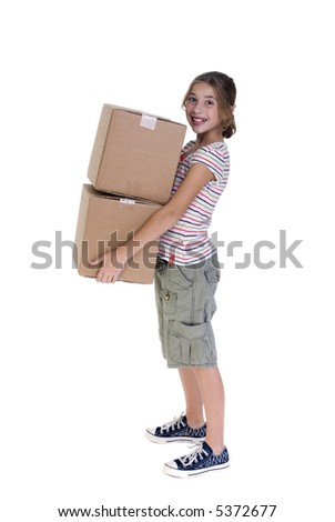 The joys of moving from one place to another. - stock photo