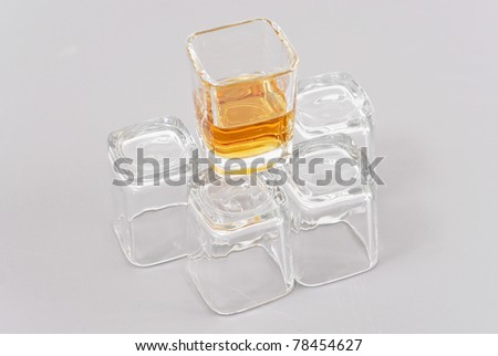 The Last Call For Alcohol - stock photo