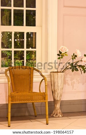 the living room  - stock photo