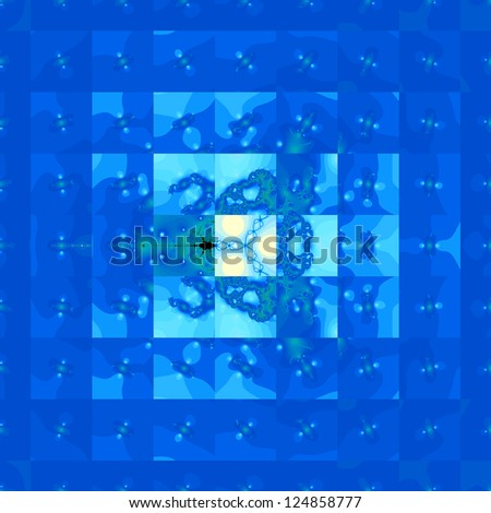 The magic fractal backgrounds - stock photo