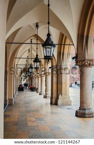 The Main Soiree in Krakow, Poland - stock photo