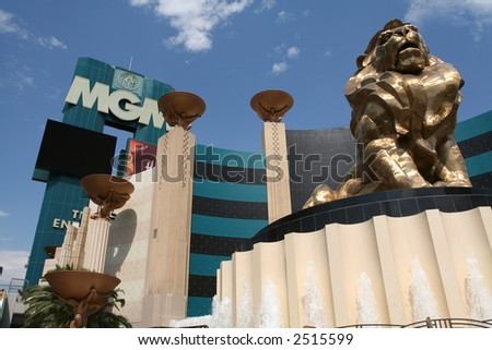 The MGM Hotel and Casino in Las Vegas, Nevada - stock photo