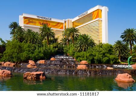 The Mirage Casino/Hotel in Las Vegas - stock photo
