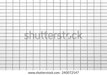 The modern concrete tile wall background and texture  - stock photo
